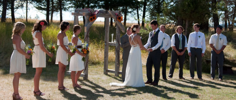 Real Wedding: Koocanusa Weekend
