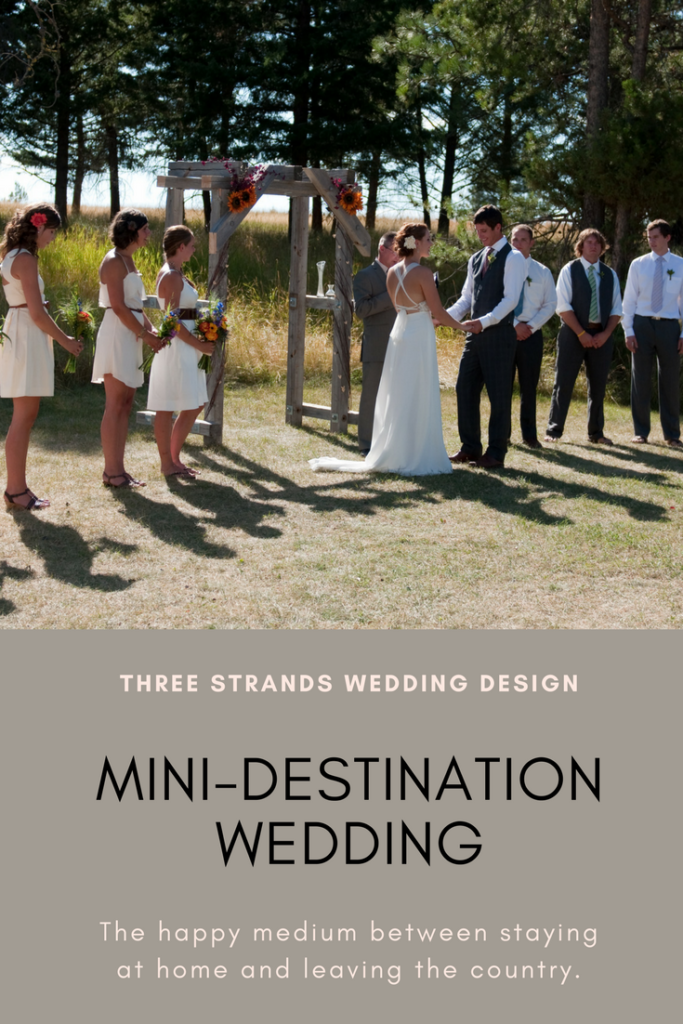 mini-destination wedding