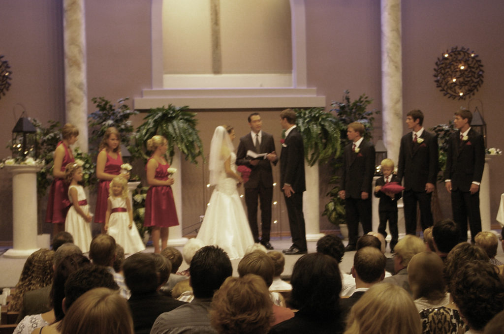 Trailview Alliance Church wedding