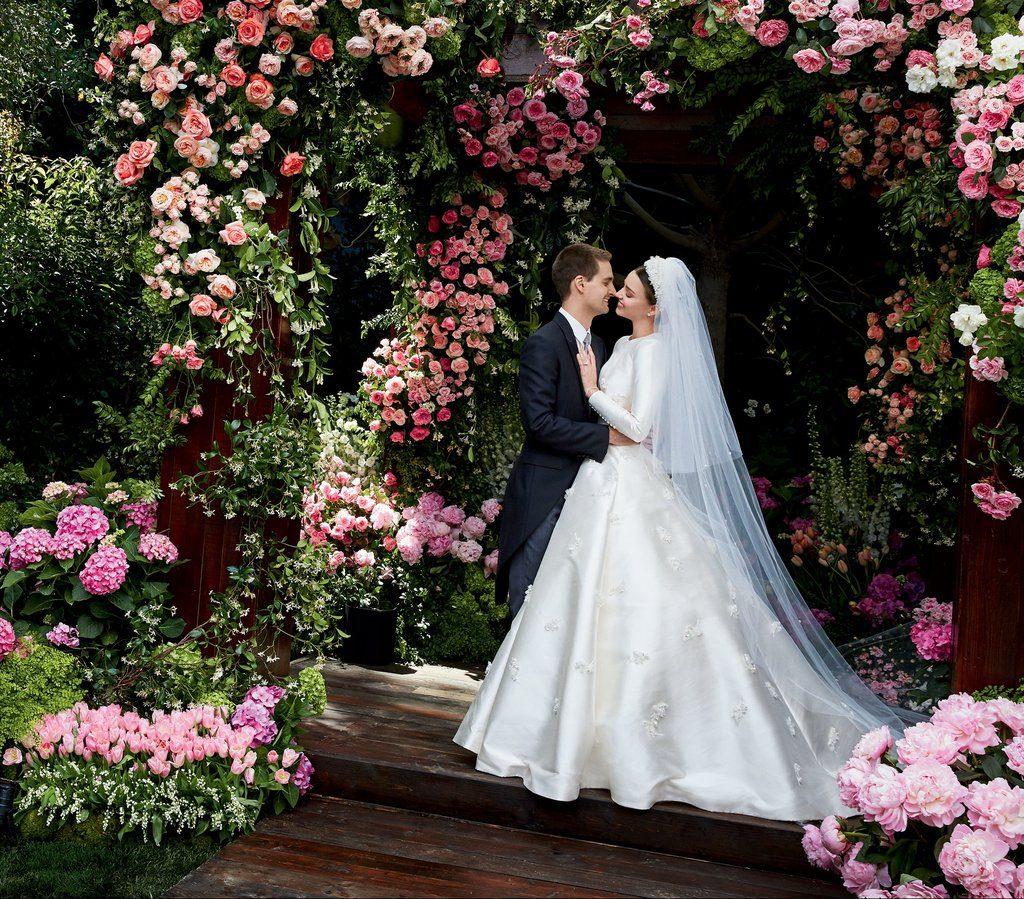 2017 Wedding Gown Trend: Miranda Kerr