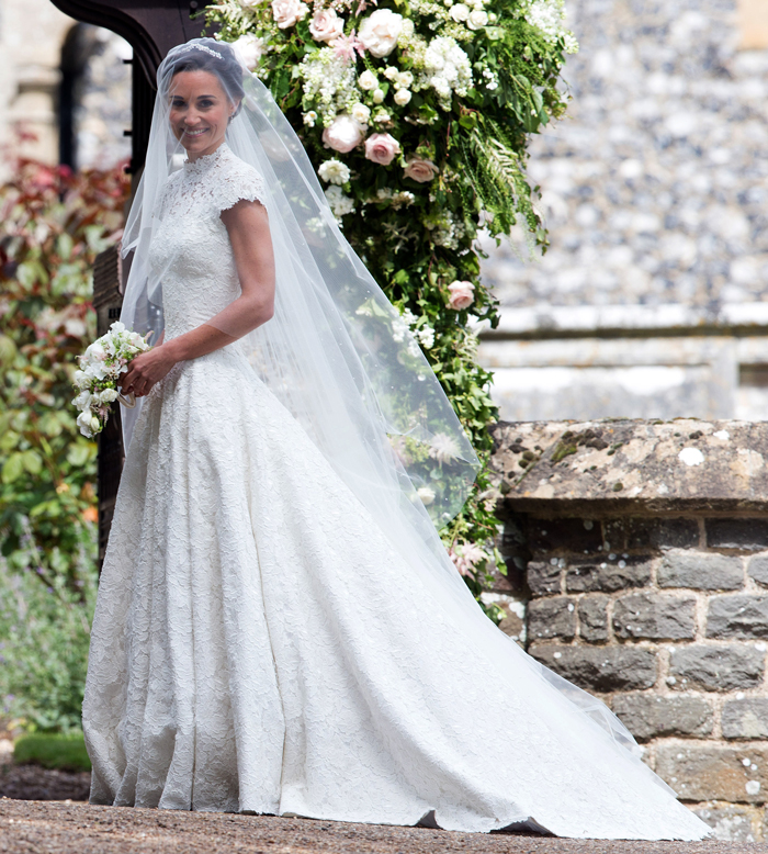 2017 Wedding Gown Trend: Pippa Middleton