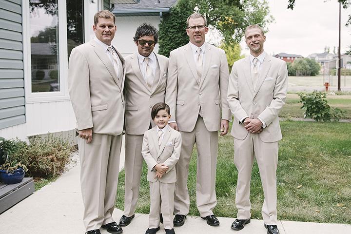 Fall wedding gentlemen