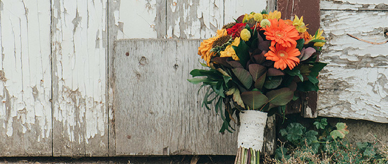 Real Wedding: The Colours of Fall