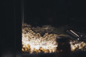 Fall wedding popcorn.