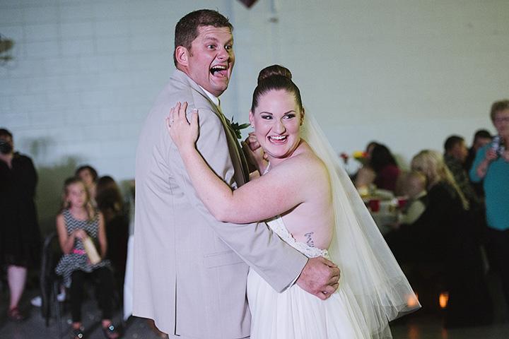 Fall wedding fun.