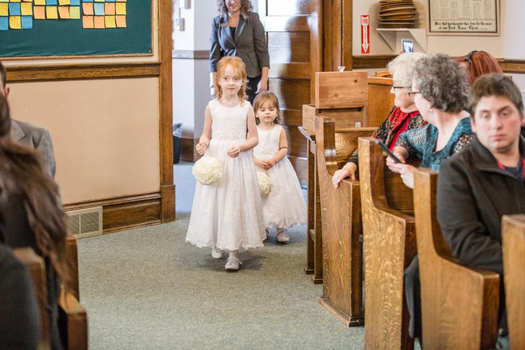 Real Wedding First United Church