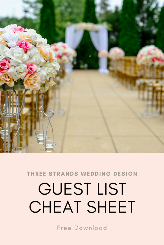 Guest List Cheat Sheet Download